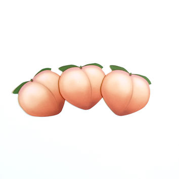 Peach Emoji Stickers