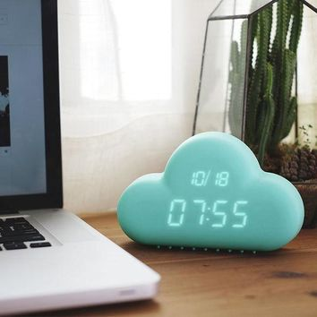 DCCKUNT Cute Creative Cloud Alarm Clock Great Gifts