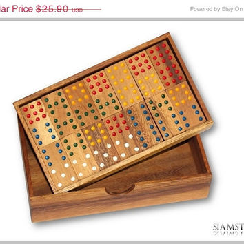 On Sale Handmade Samena wooden domino game
