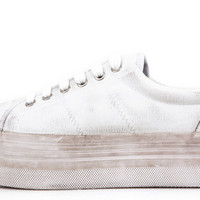 Zomg Washed Canvas - White