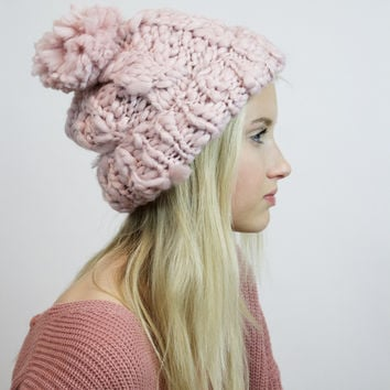 Bobbi Chunky Knit (BLUSH)