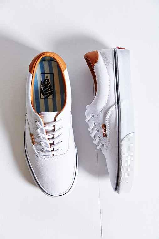 Vans Era 59 Washed Canvas + Leather from Urban Outfitters 932047b721e3