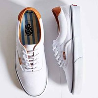 Vans Era 59 Washed Canvas + Leather Sneaker- White W