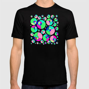 Bubble pink & green T-shirt by Zia