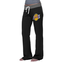 Los Angeles Lakers '47 Brand Women's Hardwood Classics Power Stretch Pants - Black