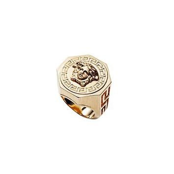 Versace - Medusa And Greca Ring