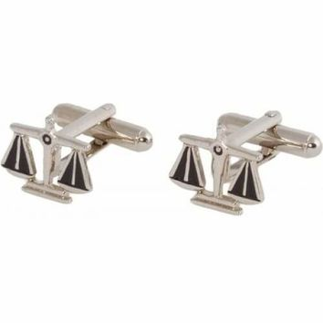 Scales Of Justice Lawyer Attorney Law Judge Cufflinks
