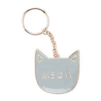 Cat Meow Keychain