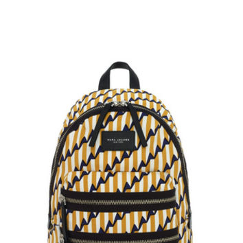 Lightweight Arrow Head Printed Biker Backpack - Marc Jacobs