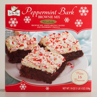 PEPPERMINT BARK BROWNIE KIT
