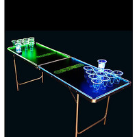 6.5' Glowing Beer Pong Table - Spencer's