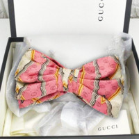 GUCCI 2019 new female pink snake cross hair band