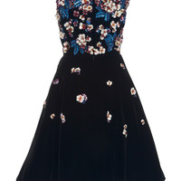 Floral Embellished Cocktail Dress | Moda Operandi