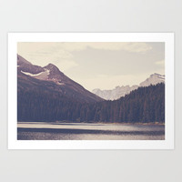 Morning Mountain Lake Art Print by Kurt Rahn