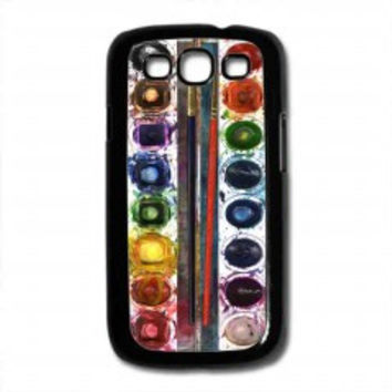 Watercolor Set for samsung galaxy s3 case