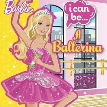 Barbie I Can Be a Ballerina Book