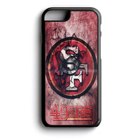 San Francisco 49ers Burnt Logo iPhone 4s iPhone 5 iPhone 5c iPhone 5s iPhone 6 iPhone 6s iPhone 6 Plus Case | iPod Touch 4 iPod Touch 5 Case
