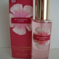 VICTORIAS SECRET ** RAVISHING LOVE ** EAU DE TOILETTE SPRAY *** 1 OZ.