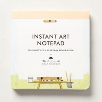Instant Art Notepad by Anthropologie Multi One Size Gifts