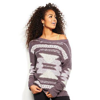 Mudd® Intarsia Sweater - Juniors