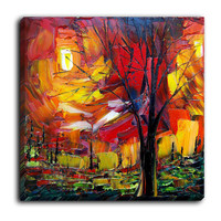 Canvas Wall Art by DiaNoche Designs, Midnight Glow