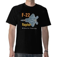 F-22 Raptor T-shirt from Zazzle.com