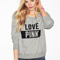 Cropped Crew - PINK - Victoria's Secret