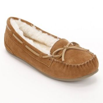 SO® Suede Moccasins - Women