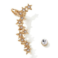 Melissa Gorga Stars Ear Cuff and Stud Earrings