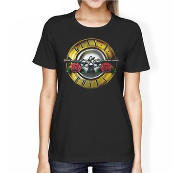 ROCKSIR women GUN N ROSES Printed T-shirt Women's Rock Cotton