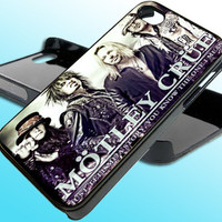Motley Crue for iPhone 4/4s Case - iPhone 5 Case - Samsung S3 - Samsung S4 - Black - White (Option Please)