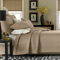 Real Simple® Dune Coverlet in Taupe