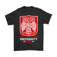Saviors University 2010 The Walking Dead Shirts