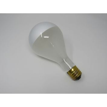 Philips 500W Incandescent Light Bulb PS40 Frosted Silverbowl 5H-PS40-M Vintage -- New