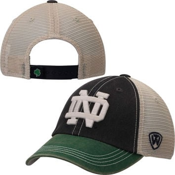 Notre Dame Fighting Irish Top Of The World Rookie Offroad Trucker Adjustable Hat – Navy Blue