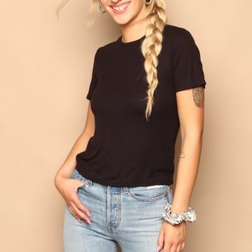 Project Social T Ribbed Baby Tee