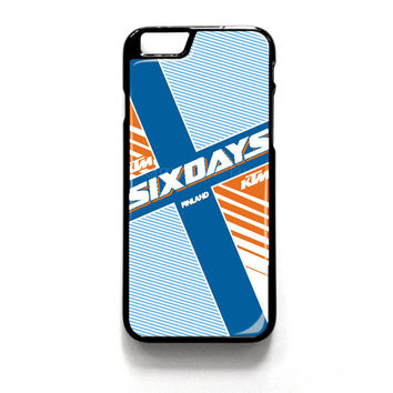 Ktm Motorcycle Six Days Finland Mx for iPhone 4 4S 5 5S 5C 6 6 Plus , iPod Touch 4 5  , Samsung Galaxy S3 S4 S5 Note 3 Note 4 , and HTC One X M7 M8 Case Cover