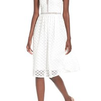 Soprano Lace Midi Dress | Nordstrom