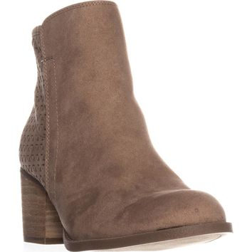 madden girl Fayth Ankle Boots, Sand, 7 US