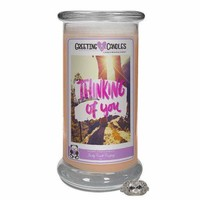 Thinking Of You Jewelry Greeting Cards Candles