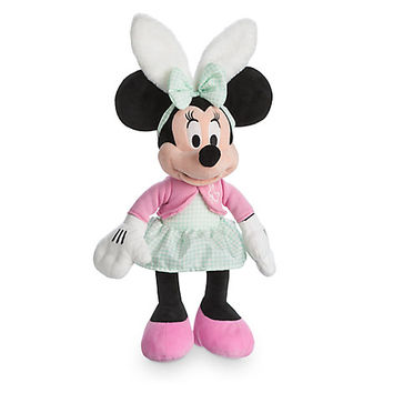 Minnie Mouse Easter Plush - 19''   Disney Store