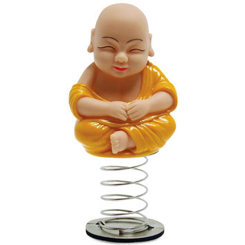 Buddhist Monk Novelty Dashboard Bobble Doll