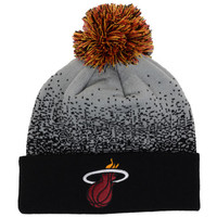 Miami Heat NBA Splatter Pom Hat