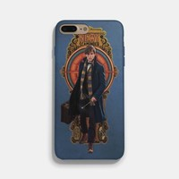 Newt Scamander Nouveau Art iPhone 7 / 7 Plus Case