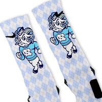 UNC Tarheels North Carolina Custom Nike Elite Socks