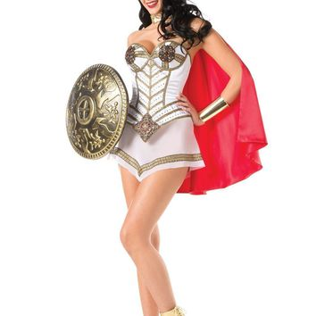 BW1432C 3 Piece Queen Of Warriors Costume - Be Wicked