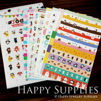 8 Sheets Korea DIY Kawaii Diary Pretty Sticker Set (TPS13)