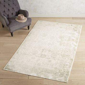 Pasha Heirloom Floral Gray Rug