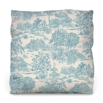 Country Outdoor Throw Pillow