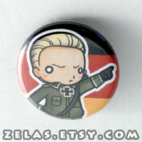 Chibi Anime Button: Hetalia - Germany